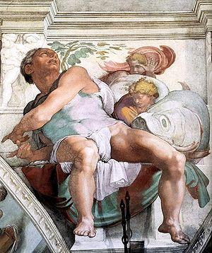 El Profeta Jonás en la Capilla Sixtina