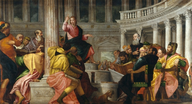 Jesus Disputes with the Doctors by Veronese